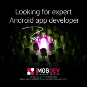 Looking for expert Android app developer