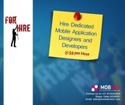 Hire Dedicated Mobile Application Designers and Developers