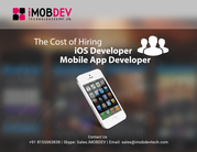 The Cost Of Hiring An iOS Developer - iOS App