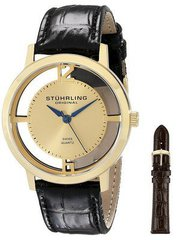 Stuhrling Original Winchester Cathedral Quartz 388G2.SET.02 Mens Watch